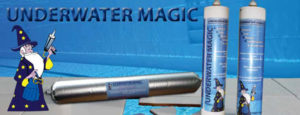 Underwater Magic adhesive and sealant